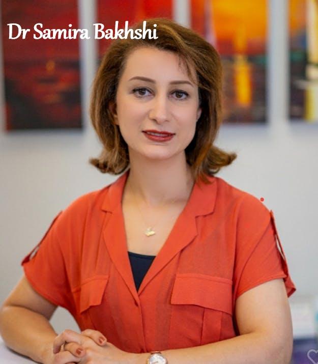 Photo of Dr Samira Bakhshi