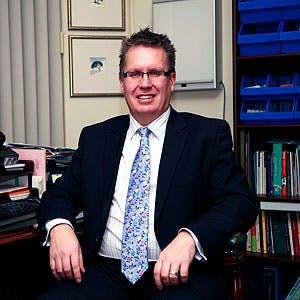 Photo of Dr Graeme Edwards