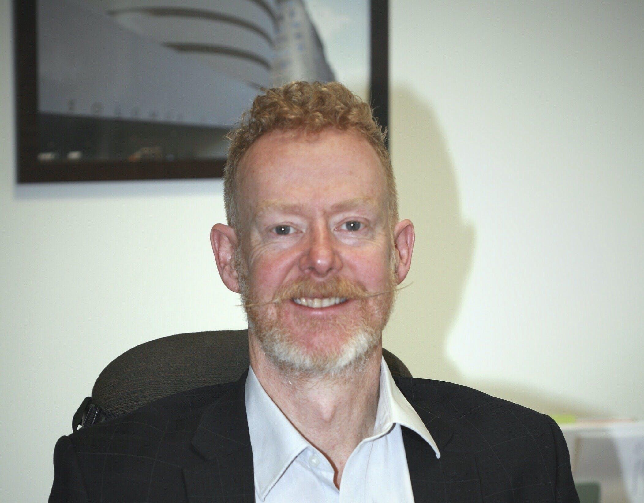 Photo of Dr Stuart Emmerson