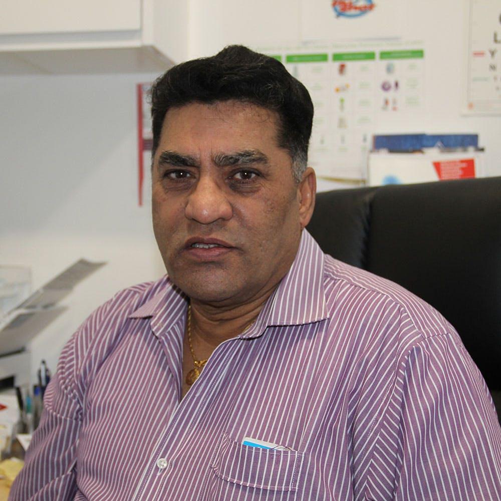 Photo of Dr Balbir Singh