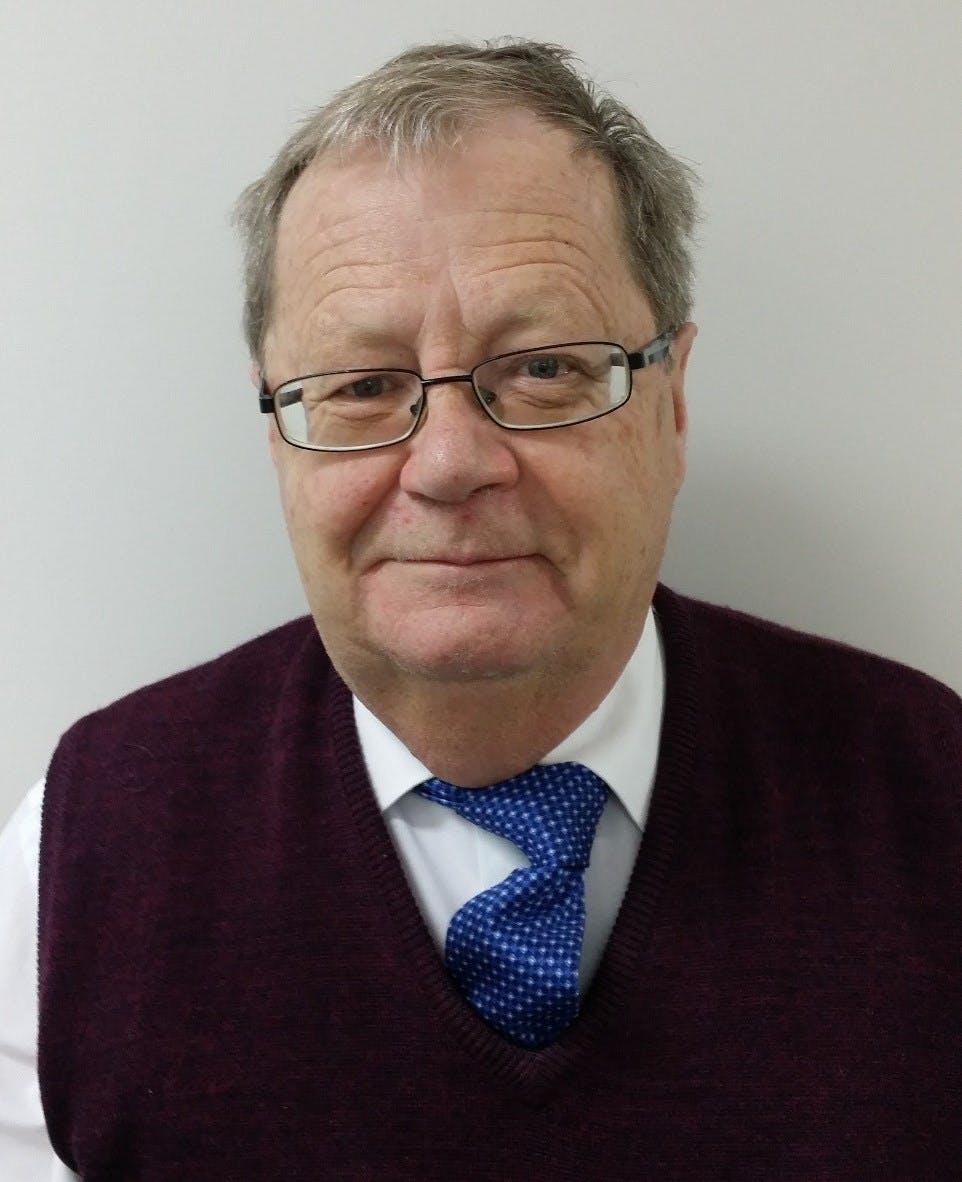 Photo of Dr Michael Wilmott