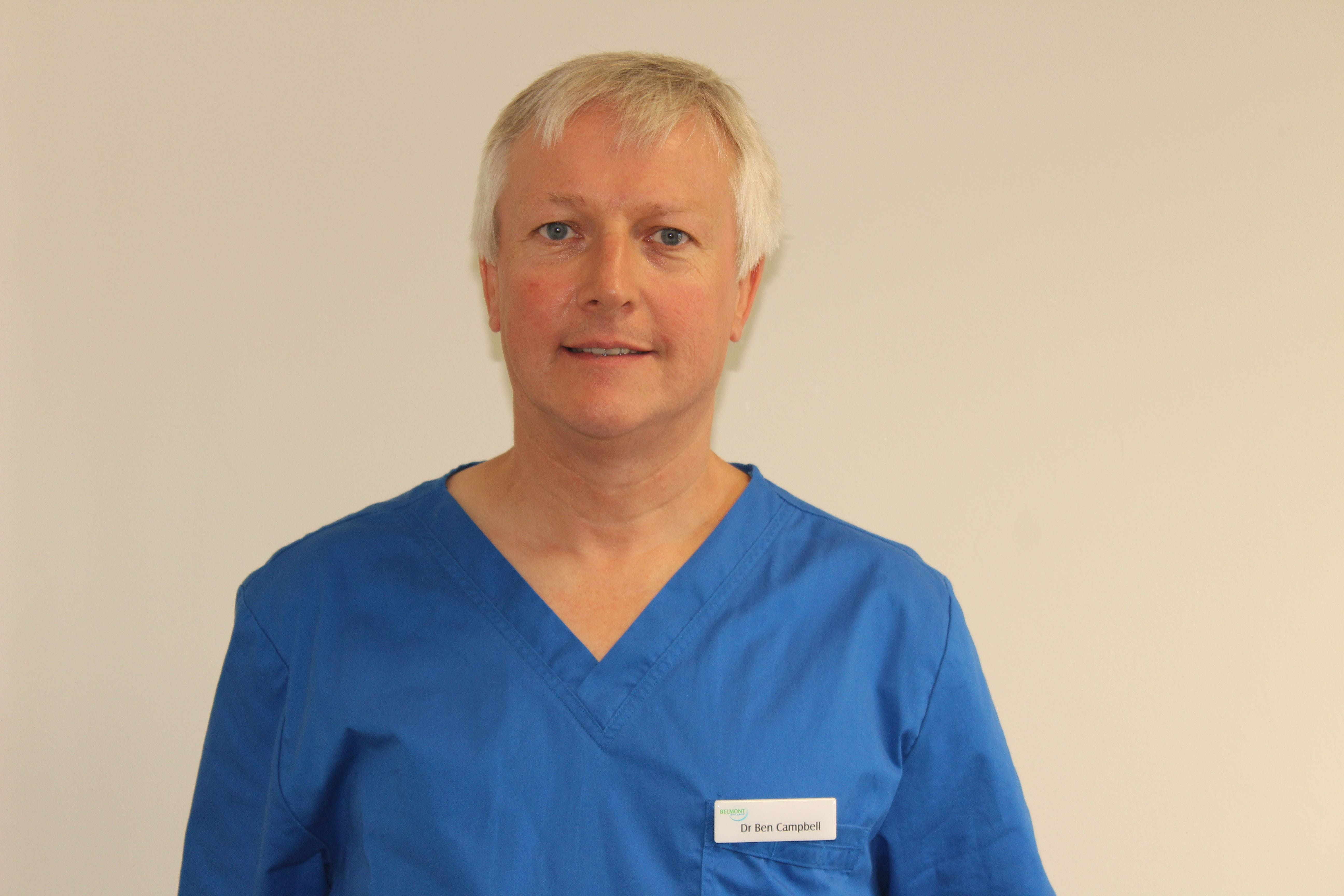 Photo of Dr Ben Campbell