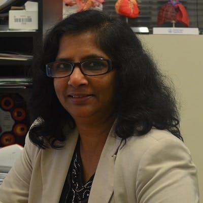 Photo of Dr Manga Akella