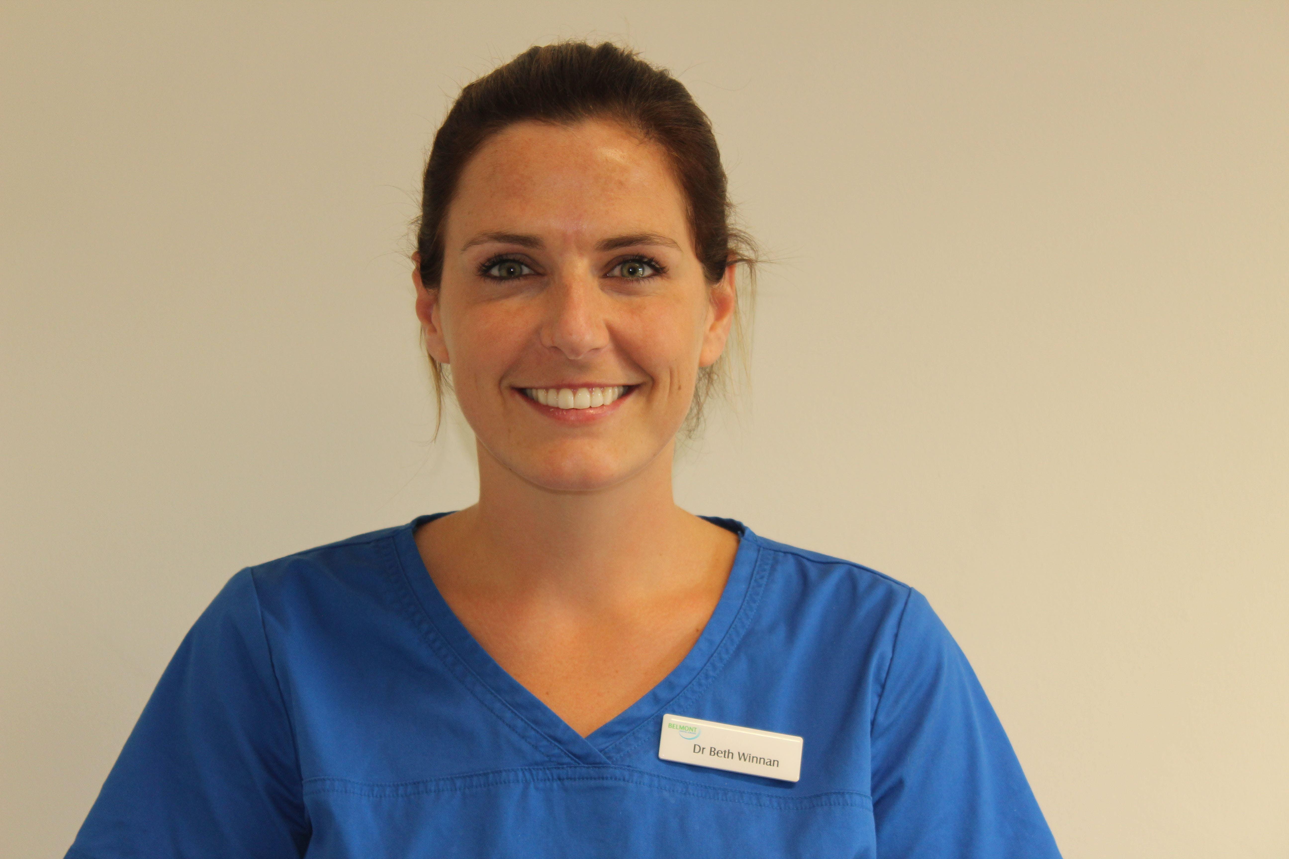 Photo of Dr Beth Winnan
