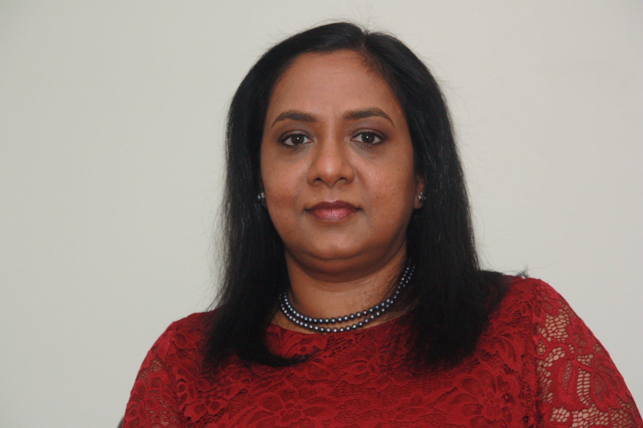 Photo of Dr Priya Reghunath