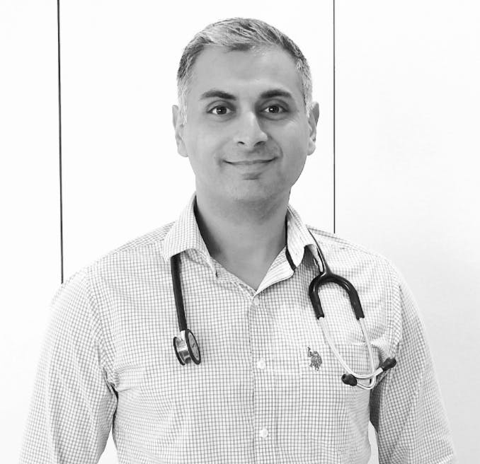 Photo of Dr Nirupam Gupta