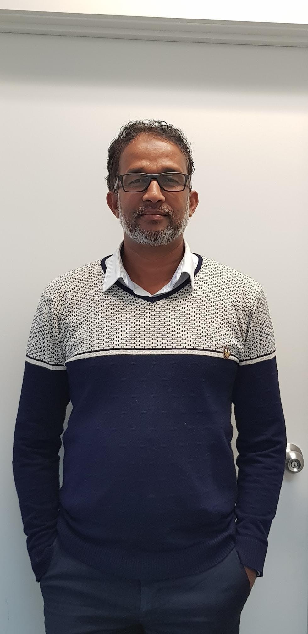 Photo of Dr Shaifullah Yoosuflebbe