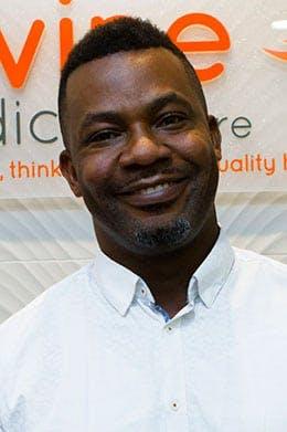 Photo of Dr Sam Osedimilehin