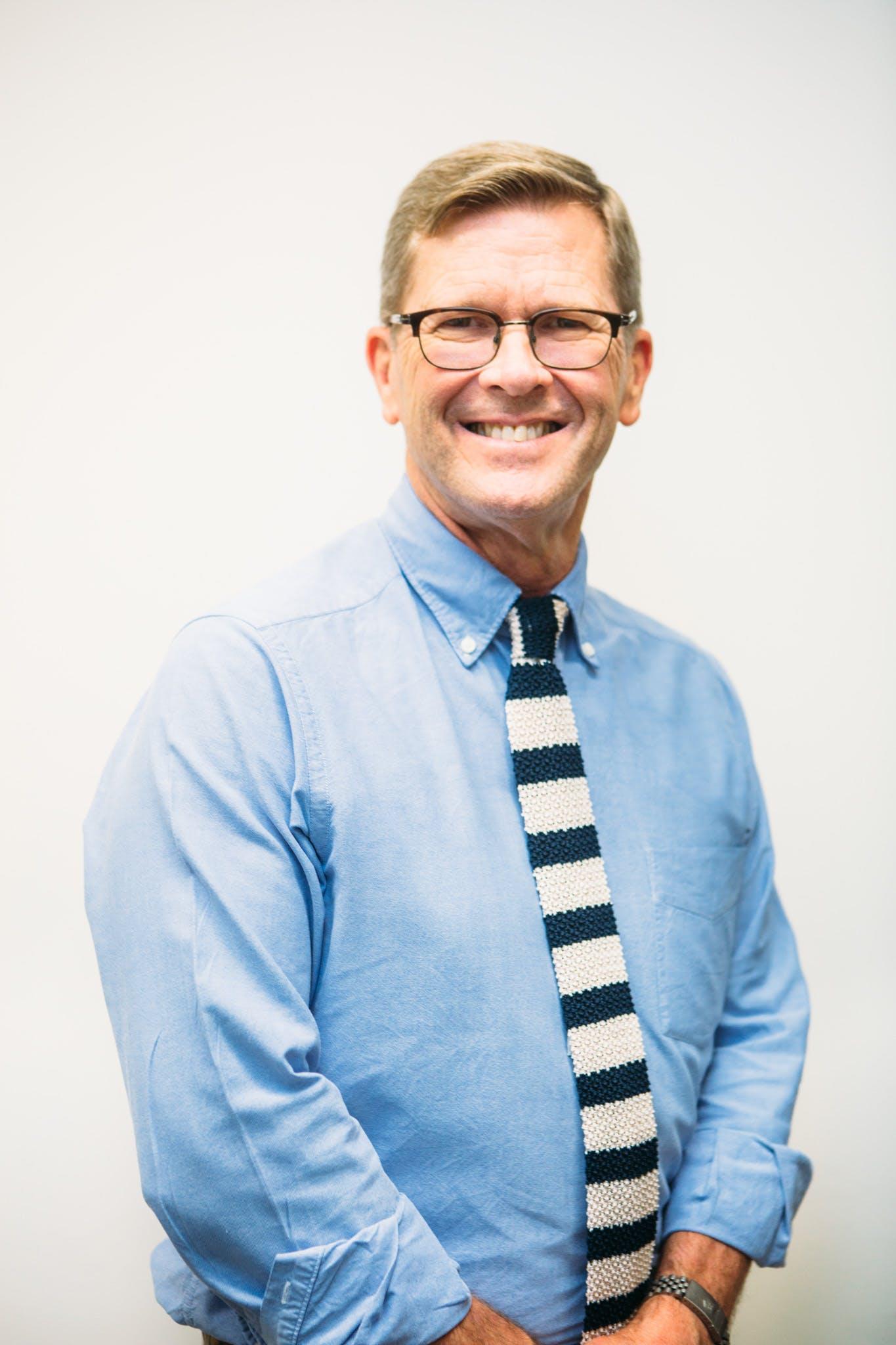 Photo of Dr Malcolm Godfrey