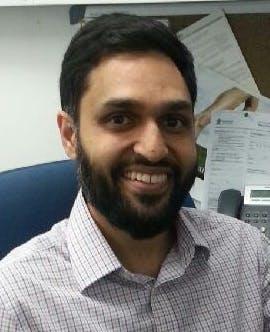 Photo of Dr Riaz Essof
