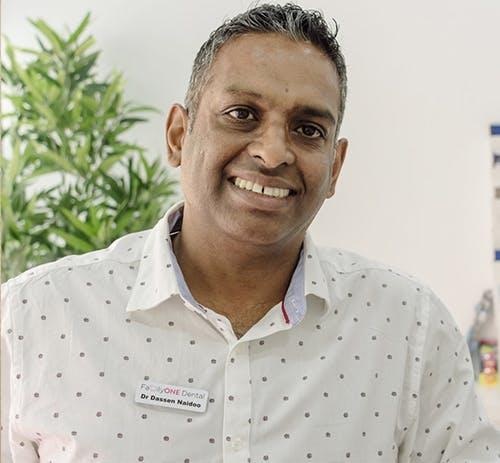 Photo of Dr Dassen Naidoo