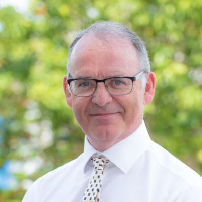 Photo of Dr Colin Rigg