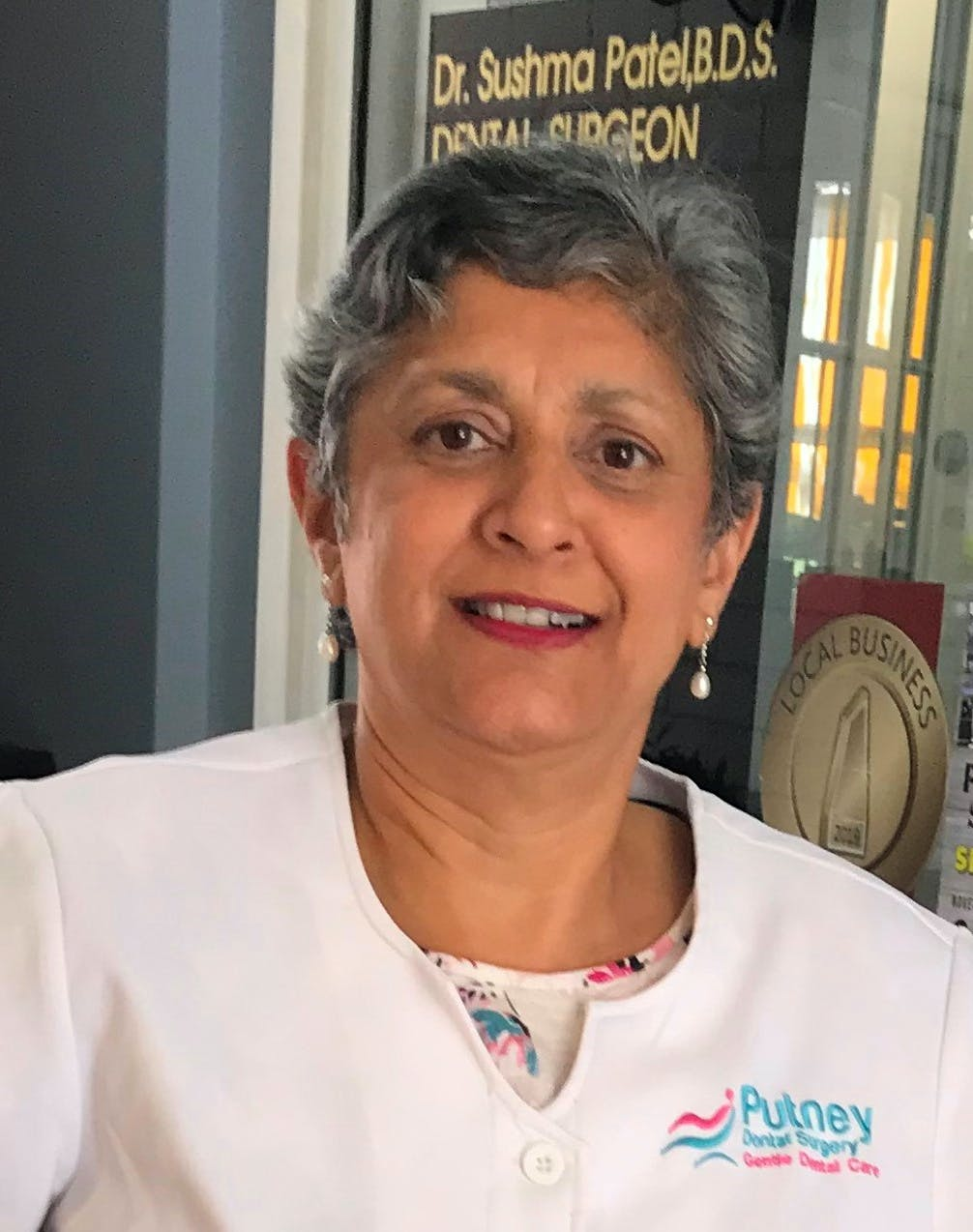 Photo of Dr Sushma Patel