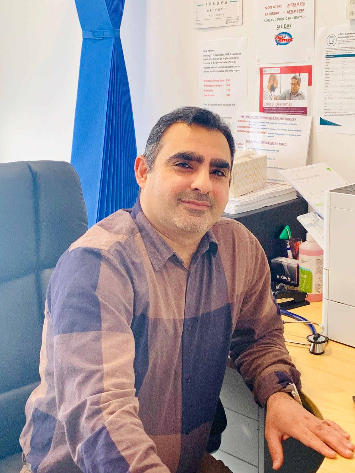 Photo of Dr Uday Alhamed