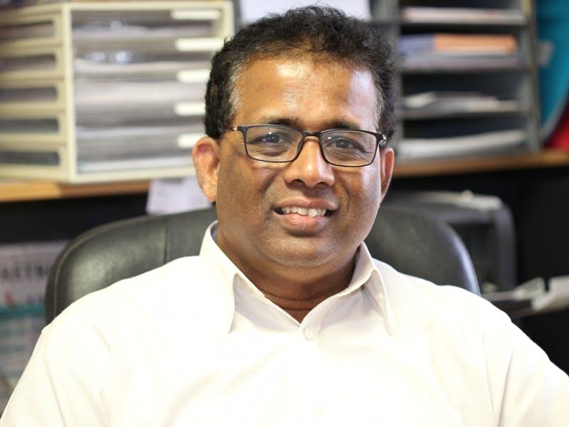 Photo of Dr Gamini Waragoda
