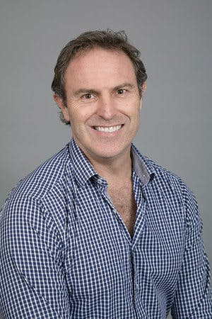Photo of Dr Tristan Robertson