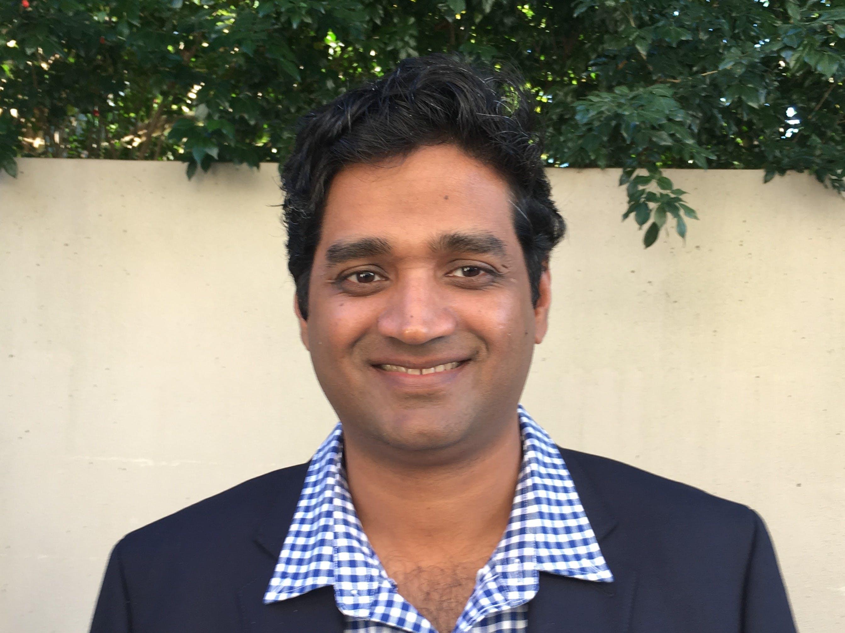 Photo of Dr Nimalan Subramaniam