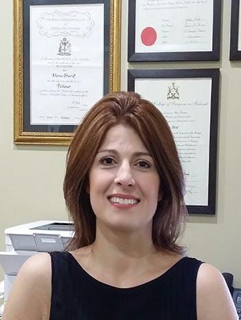 Photo of Dr Mona Sherif