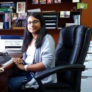 Photo of Dr Manjula Thiru