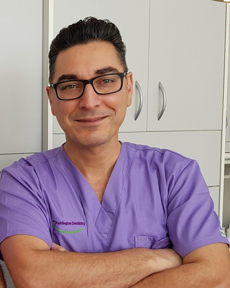 Photo of Dr Nick Nabavi
