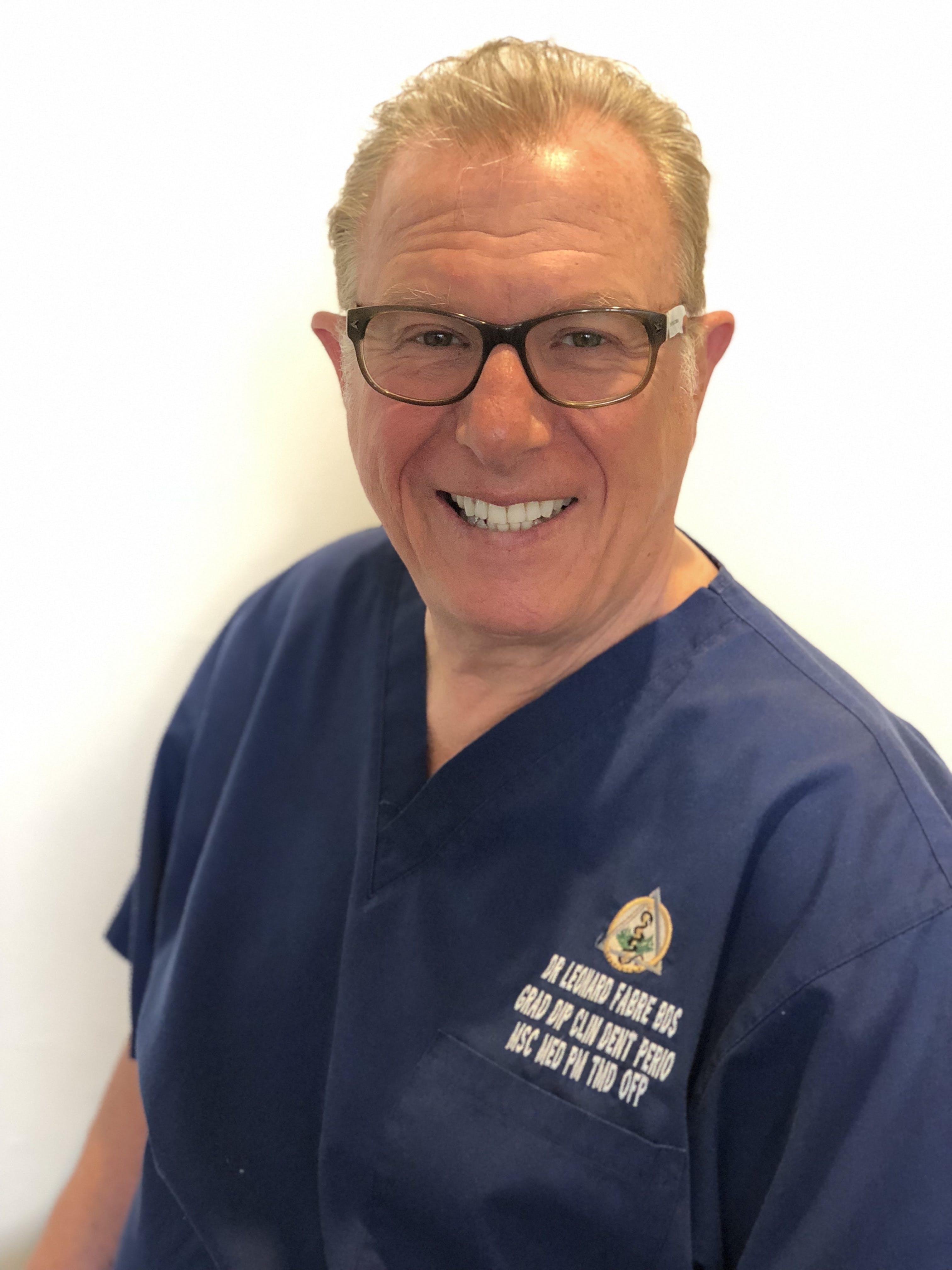 Photo of Dr Leonard Fabre