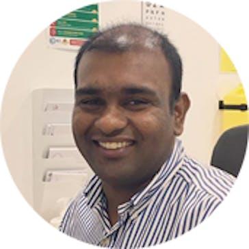 Dr Suthaharan Manoharan Photo