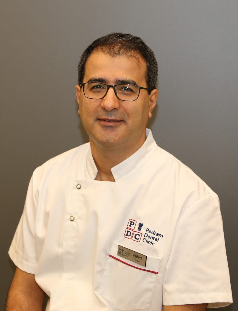 Photo of Dr Vahid Pedram