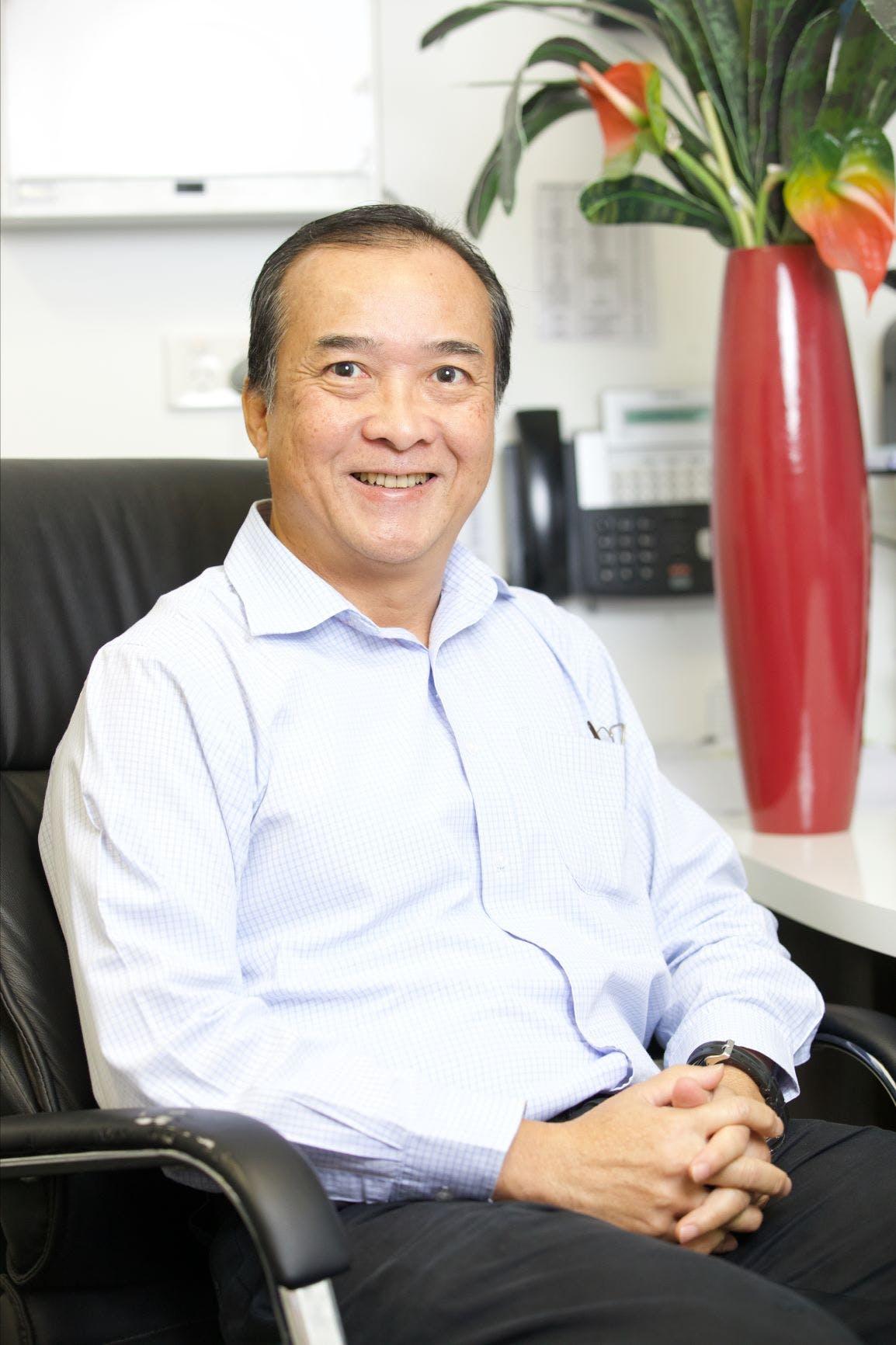 Photo of Dr Max Chee Wong