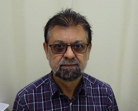Photo of Dr Mahomed Suleman