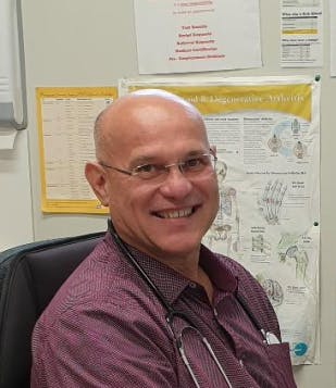 Photo of Dr Raouf George