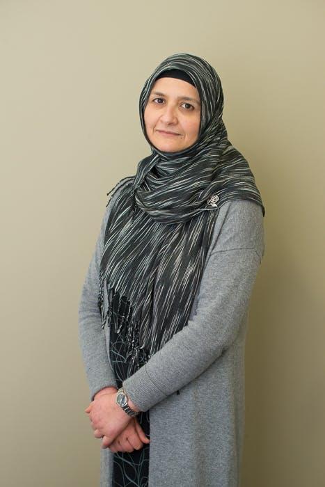 Photo of Dr Sabina Amin