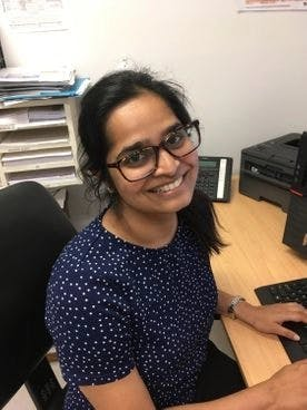 Photo of Dr Neha Parvatreddy