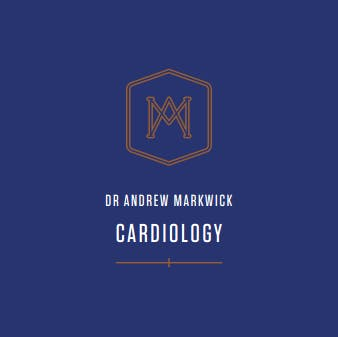 Dr Andrew Markwick Cardiology Logo