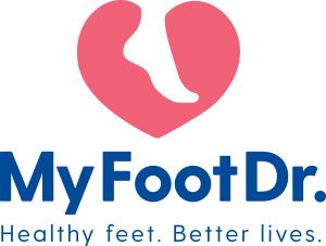 My FootDr Fortitude Valley Logo