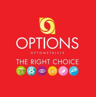 Options Optometrists Ocean Keys Logo