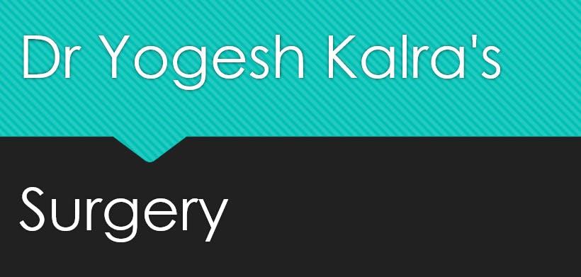 Dr Yogesh Kalra's Surgery Logo