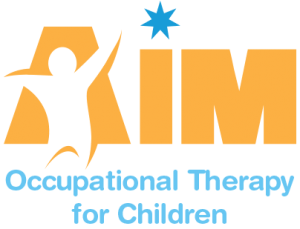 AIM Occupational Therapy for Children Joondalup Logo