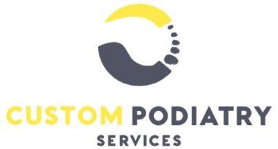 Custom Podiatry Services Logo