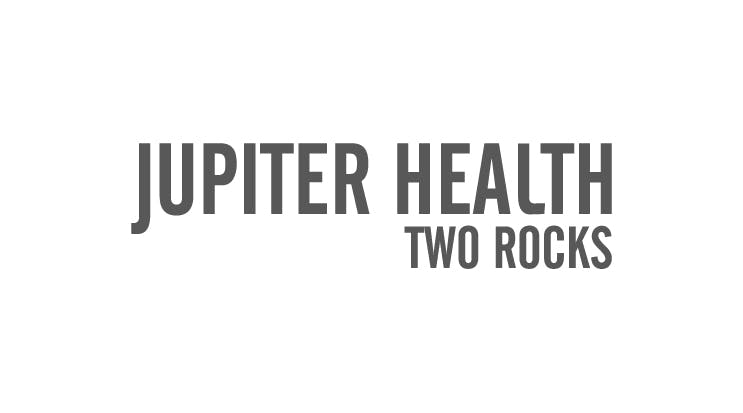 Jupiter Health Two Rocks Logo