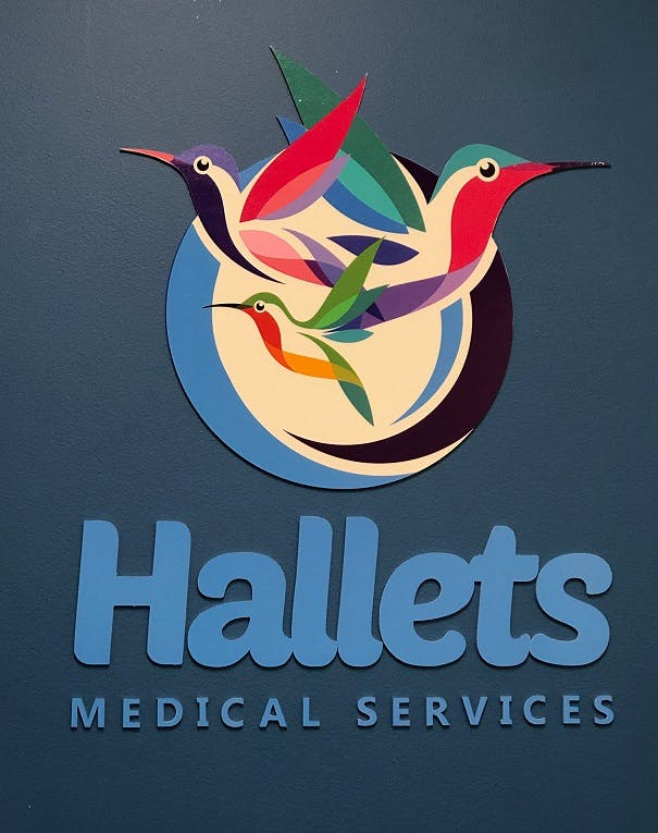 Halletts Medical Services Logo