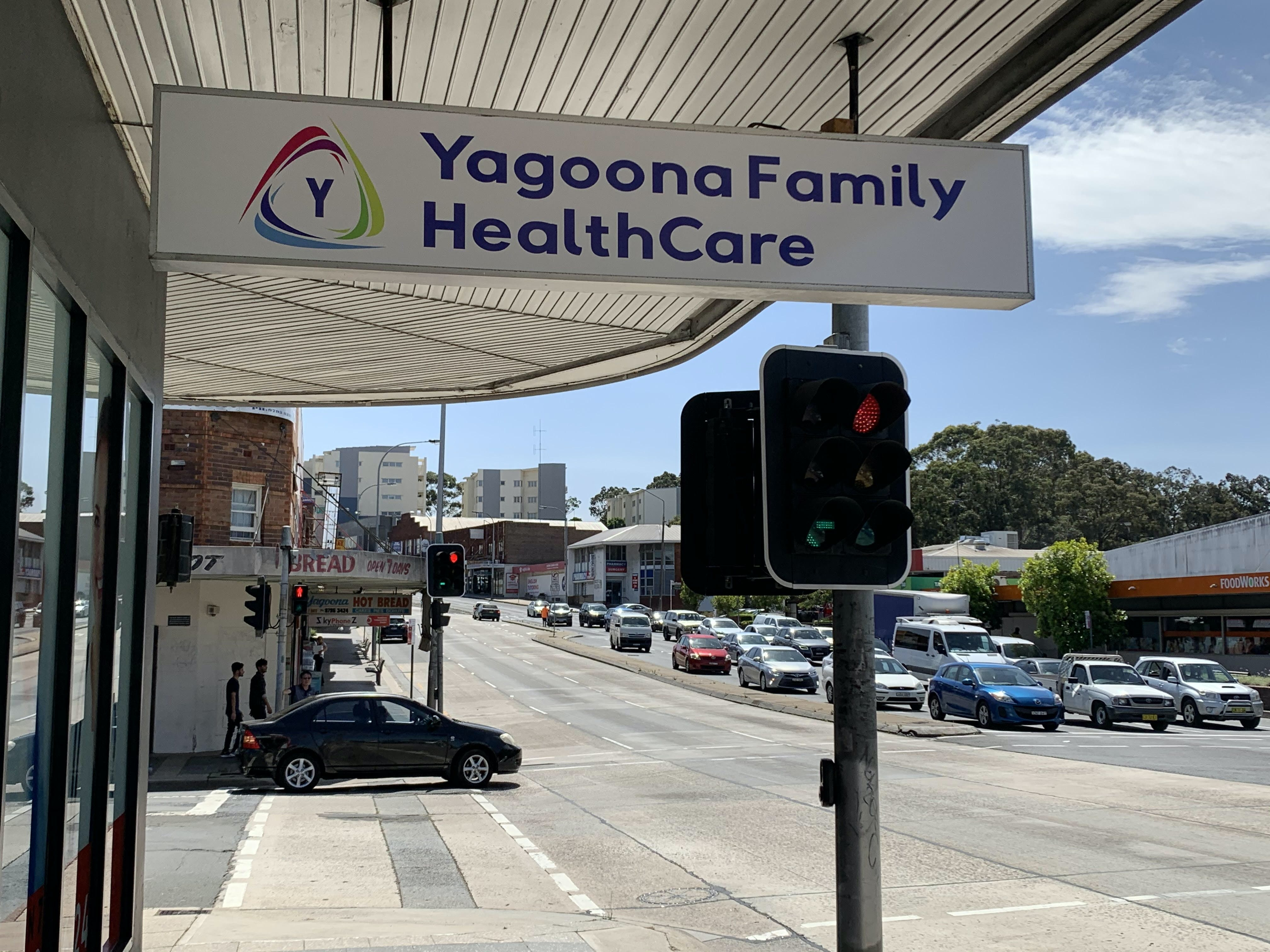 Yagoona Family Healthcare Logo