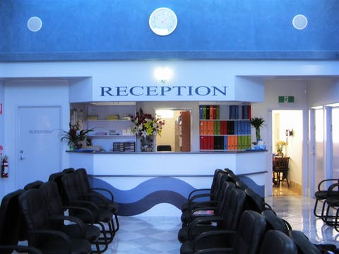 BWFP Reception area & waiting room
