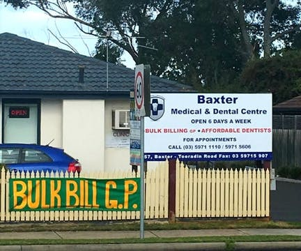 Baxter Medical And Dental