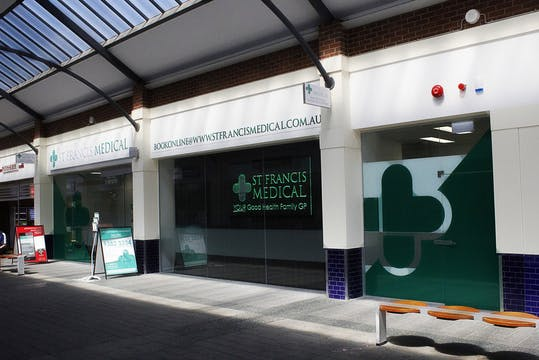 Medical Centre Frontage