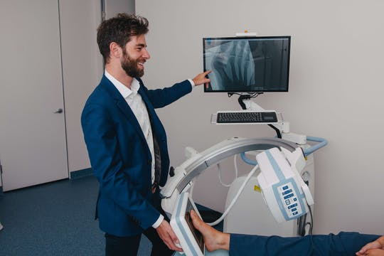 On-Site X-ray Imaging