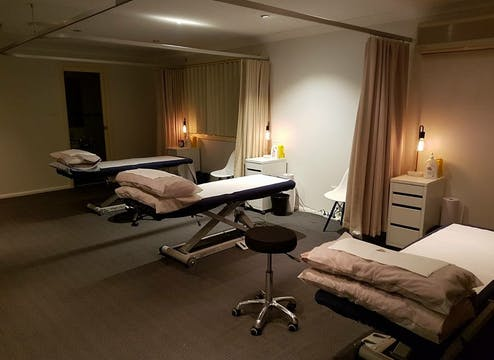 Clean, modern consulting rooms