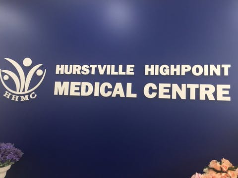 Hurstville Highpoint Medical Centre - Book an Appointment Online