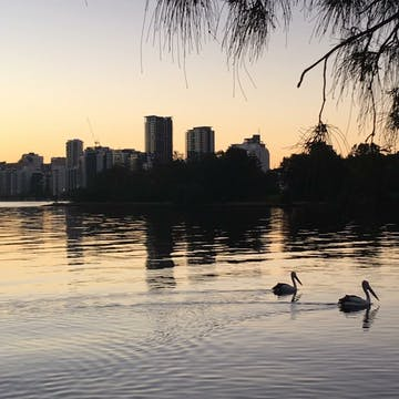South Perth foreshore and Insideout Psychology just up the road
