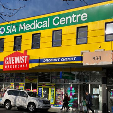 SIA Medical Centre Box Hill