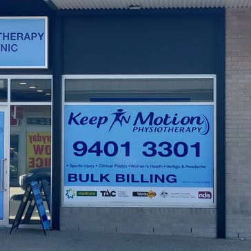 Keep In Motion Physiotherapy - Epping